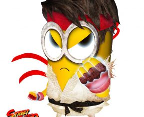 Minion Street Fighter Ryu