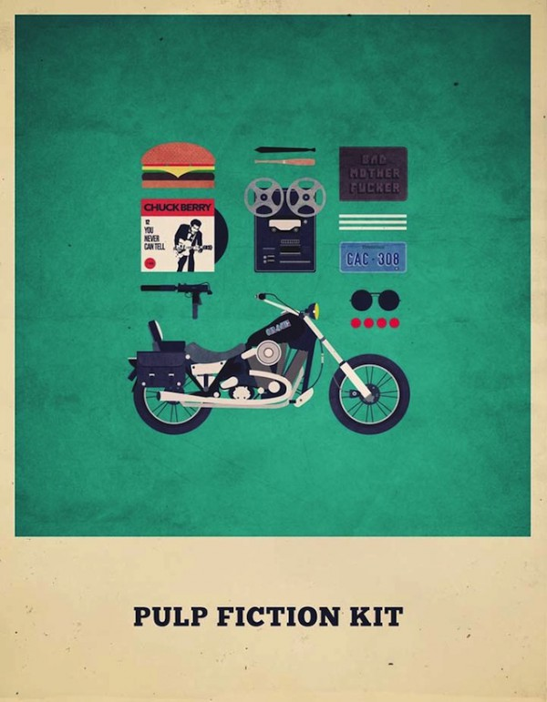 Movies Hipster Kits Pulp Fiction