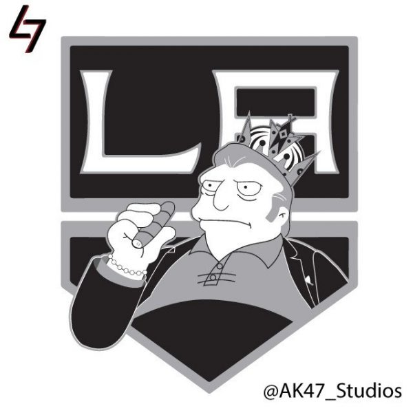 Simpsonized NHL Logos Fat Tony Simpson