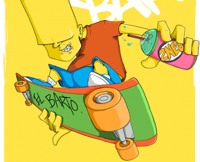 Simpsons-Bart-Favorite-Family