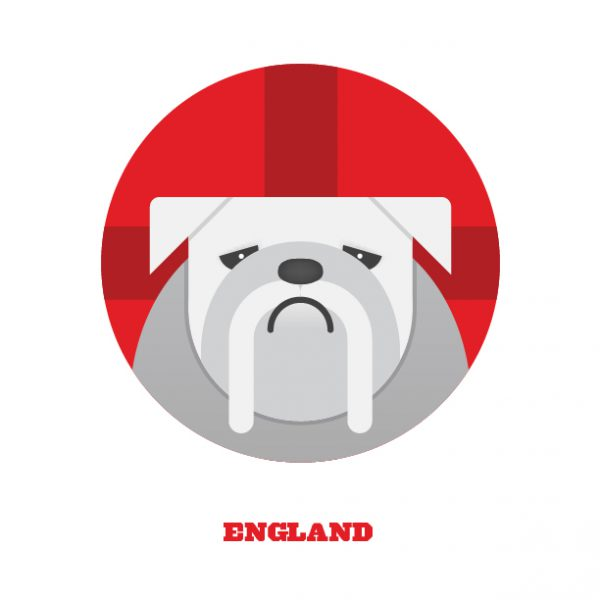 World Cup Postcards England