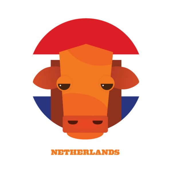 World Cup Postcards Netherlands