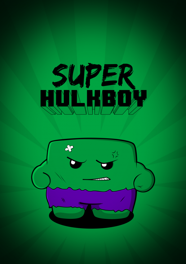 super hulk boy