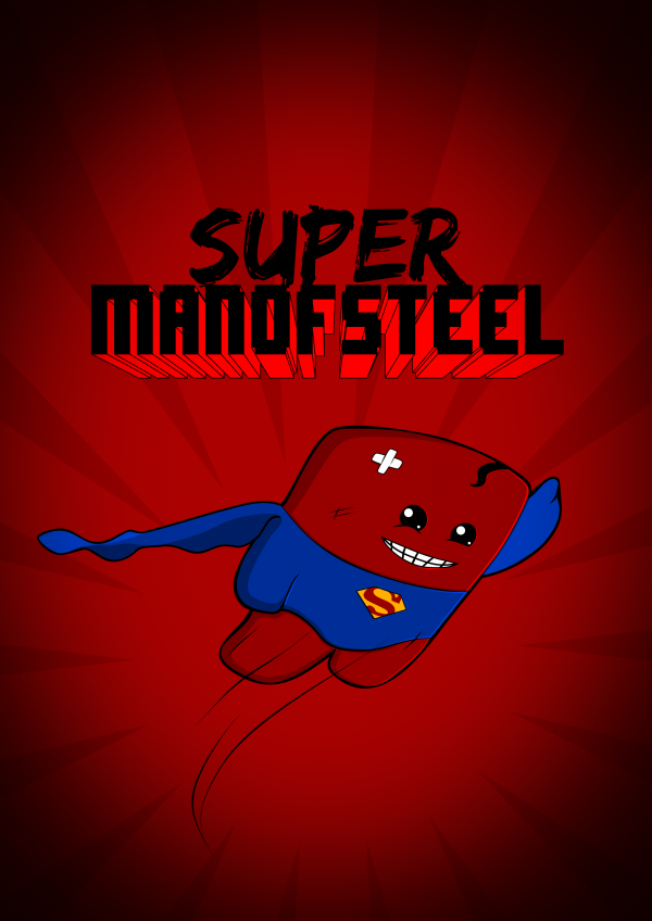 super man of steel