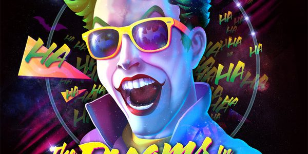 80ies Album Cover Villains Joker