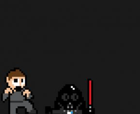 8-Bit Movie Posters by Eric Palmer star wars