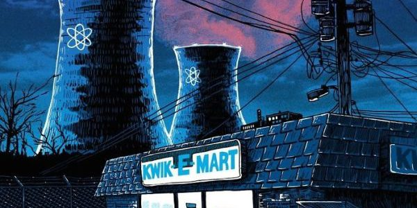"""""""Unreal Estate"""" The Simpsons' Springfield by Mr.Doyle Kwik e mart"""