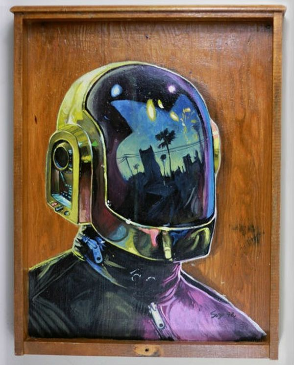 Daft Punk by Serge Gay JR 02