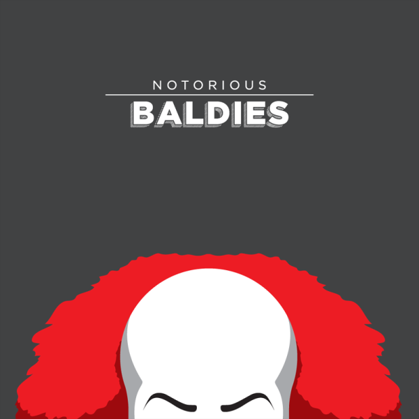 Notorious Baldies by Mr Peruca 09