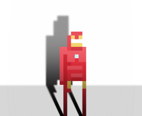 Pixel Superheroes by Ercan Akkaya Iron Man