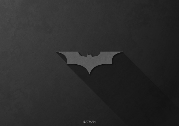 Superhero Logos by Rami Hoballah Batman