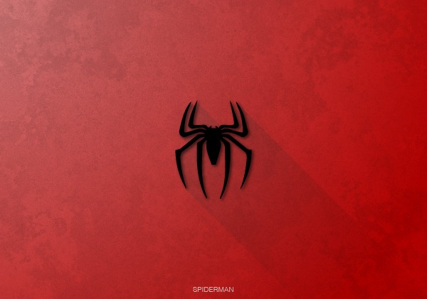Superhero Logos by Rami Hoballah Spiderman