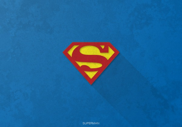 Superhero Logos by Rami Hoballah Superman