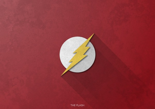 Superhero Logos by Rami Hoballah The Flash