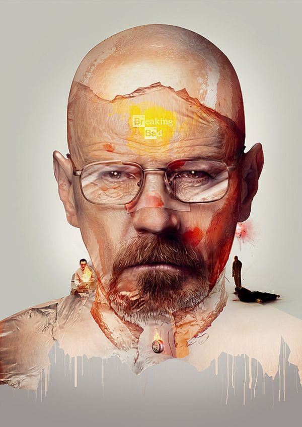 TV Show Poster Series by Adam Spizak Breaking Bad
