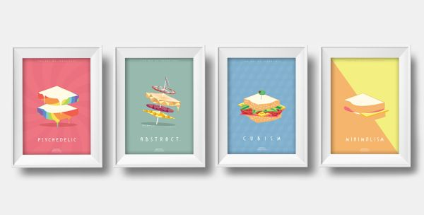The Art of Sandwiches by Jeremy & Gabrielle All
