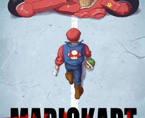 Badass Cartoon Series by Sylvain Sarrailh Mario Kart
