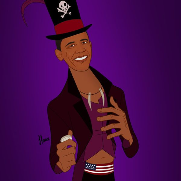 Global Politicians As Disney Villains by Saint Hoax Barack Obama