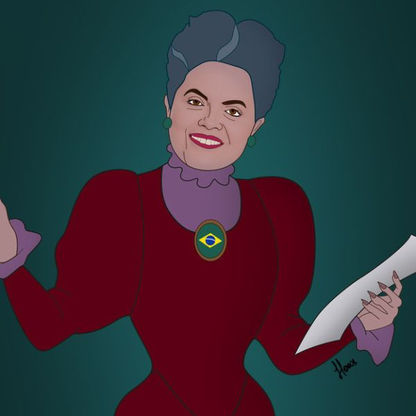 Global Politicians As Disney Villains by Saint Hoax  Dilma Rousseff