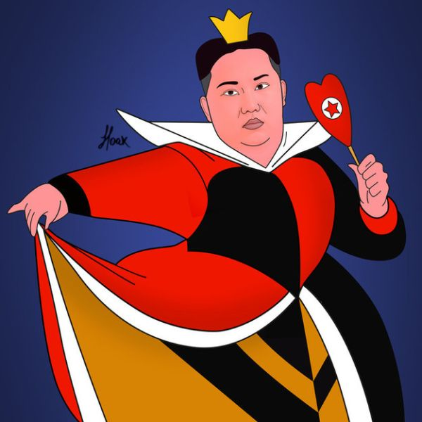 Global Politicians As Disney Villains by Saint Hoax Kim Jong-un