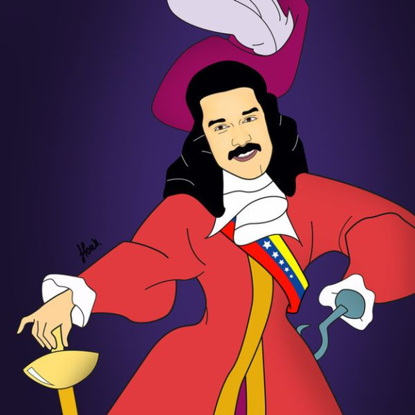 Global Politicians As Disney Villains by Saint Hoax  Nicolas Maduro