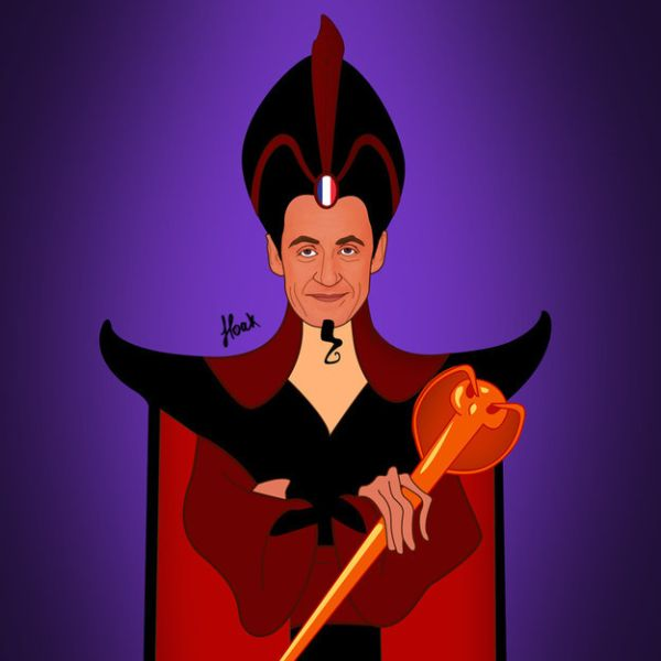 Global Politicians As Disney Villains by Saint Hoax Nicolas Sarkozy
