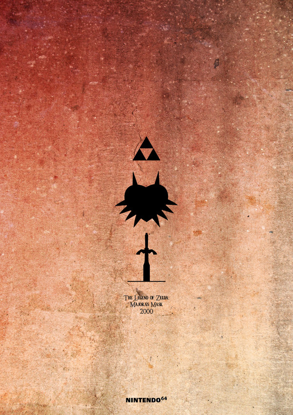 LEGEND OF ZELDA 1986 — 2013 by Esteban Hidalgo 2000
