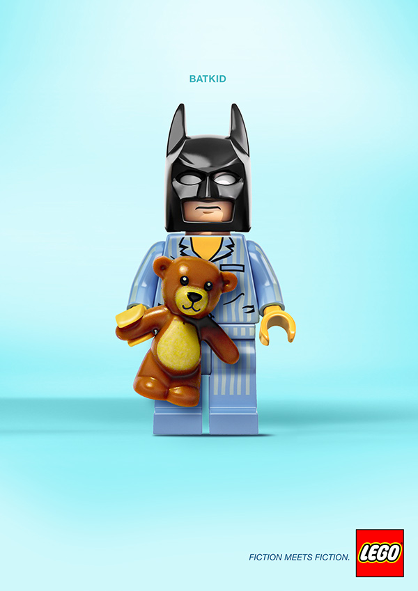 LEGO Fiction meets Fiction by Alexandre Tissier Batkid