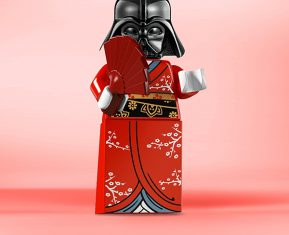 LEGO Fiction meets Fiction by Alexandre Tissier Vader
