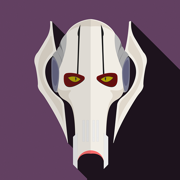 Star Wars by Alexandr Gorelenkov General Grievours