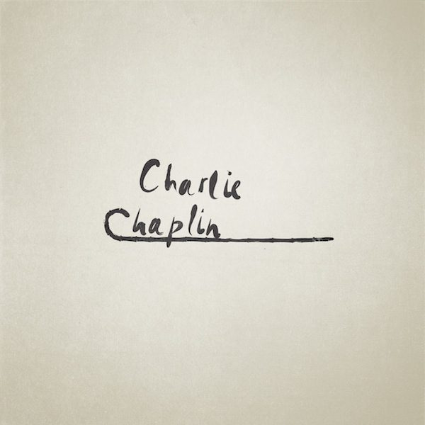 Famous People Iconic Letters Charlie Chaplin