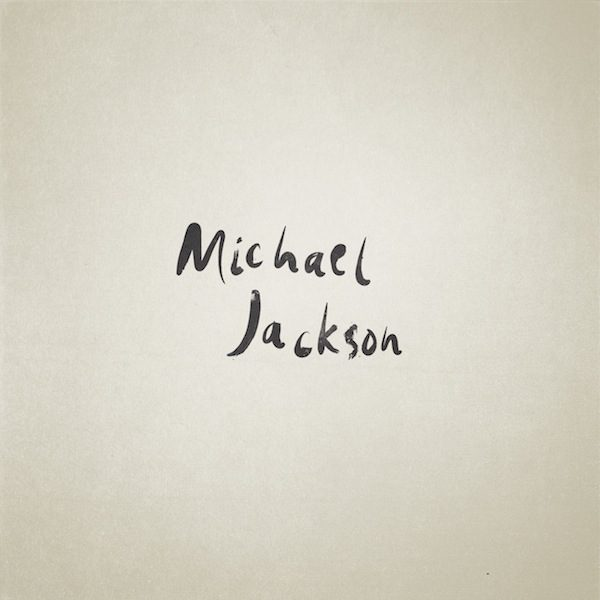 Famous People Iconic Letters Michael Jackson