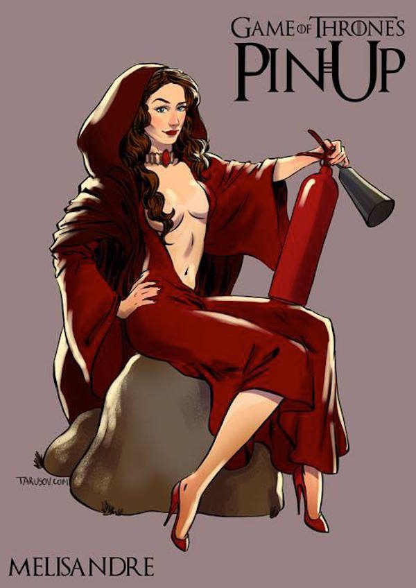 Game-of-Thrones-Pin-Ups-Melisandre-Andrew-Tarusov
