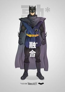 Batman meets Dragon Ball Z Pop Culture Mashups by PIERRE-MARIE LENOIR Batman