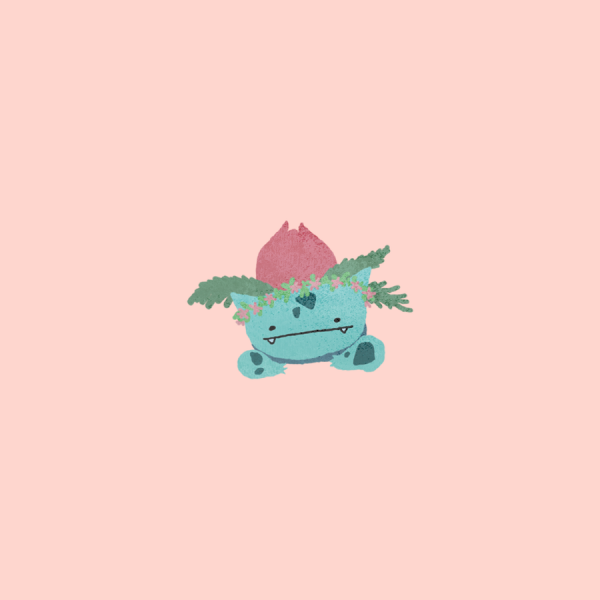 Childish Pokemons by Karolin Gu Ivysaur