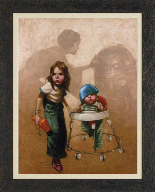 Kids Playing Star Wars by Craig Davison 03
