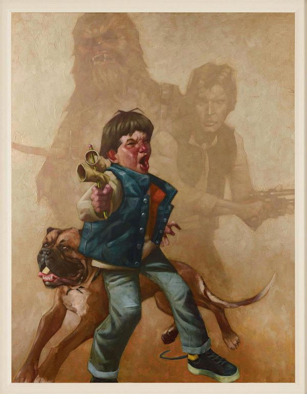 Kids Playing Star Wars by Craig Davison 04