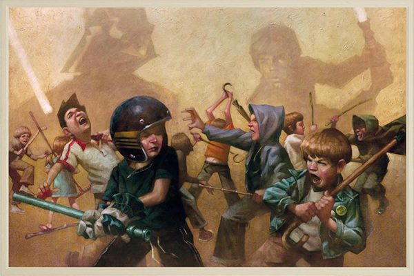 Kids Playing Star Wars by Craig Davison 05