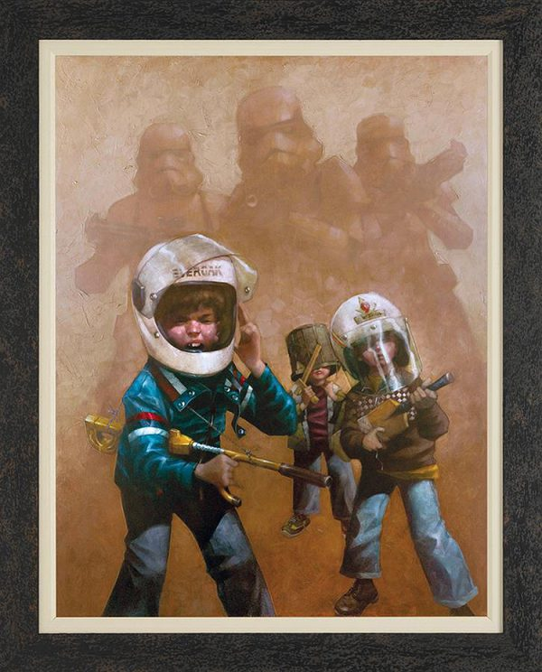 Kids Playing Star Wars by Craig Davison 06