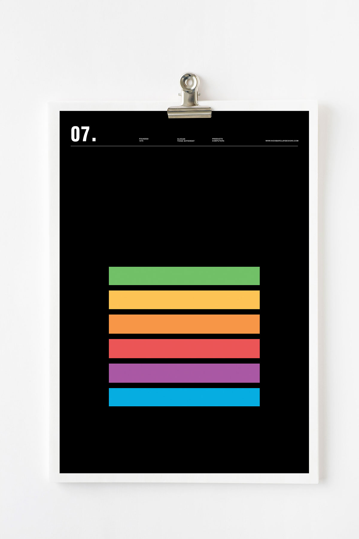 Line Logos by Nick Barclay Apple