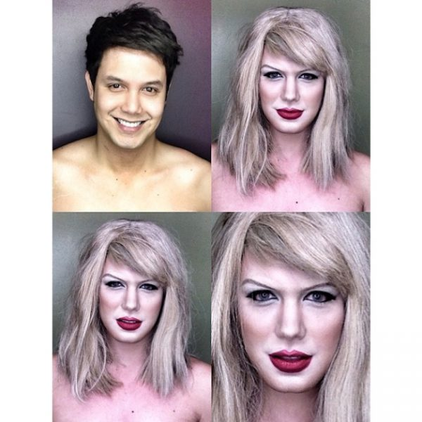 Makeup Transforms Into Various Female Celebrities by Paolo Ballesteros 06