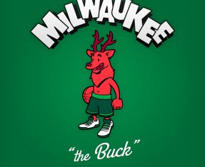 NBA Logos Cartoon Character by Baboon Creation The Buck