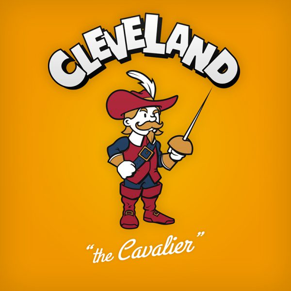 NBA Logos Cartoon Character by Baboon Creation the Cavalier