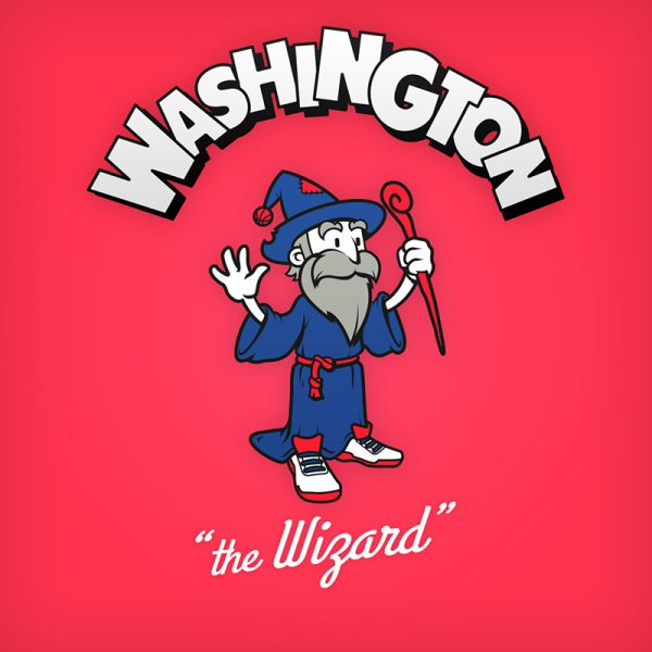 NBA Logos Cartoon Character by Baboon Creation the wizard