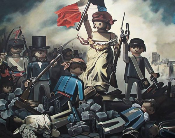 Playmobil Paintings by Pierre-Adrien Sollier 01