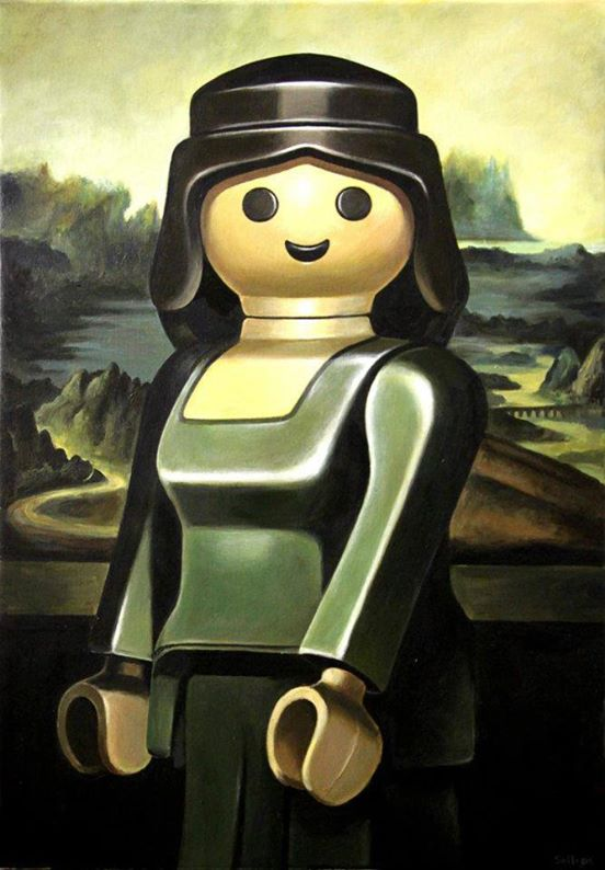 Playmobil Paintings by Pierre-Adrien Sollier 05