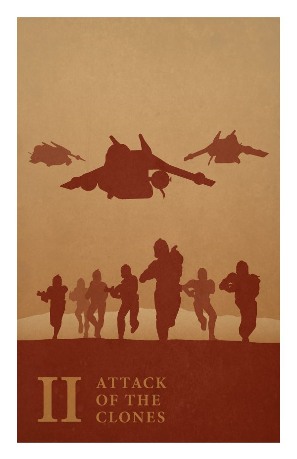 Star Wars Poster by Jonathan Ellis II