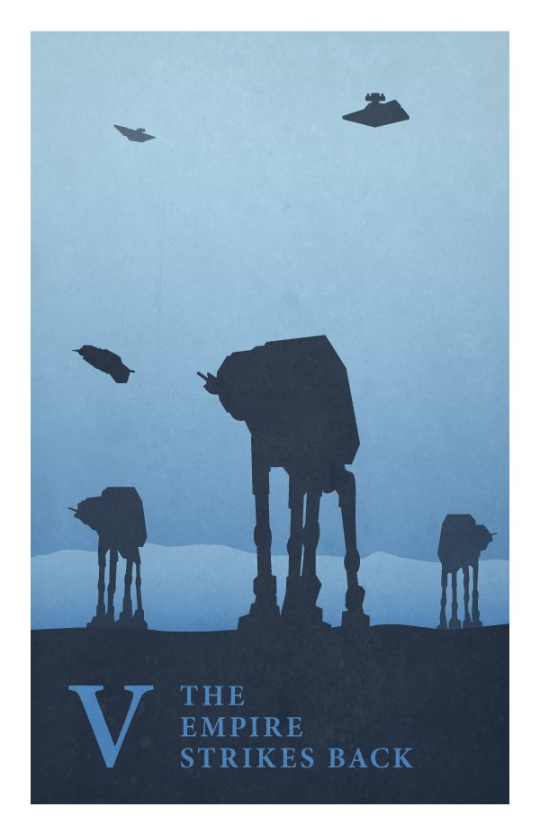 Star Wars Poster by Jonathan Ellis V