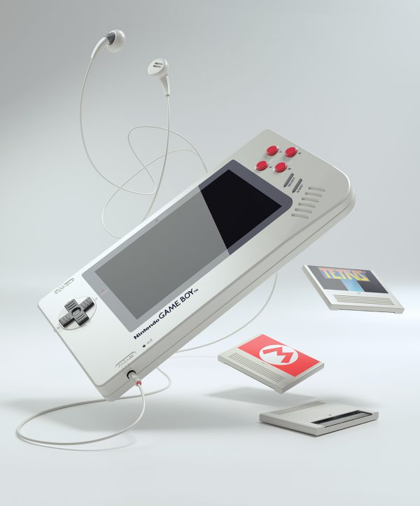 Nintendo Gameboy 1UP by Florian Renner 01