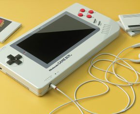 Nintendo Gameboy 1UP by Florian Renner 03